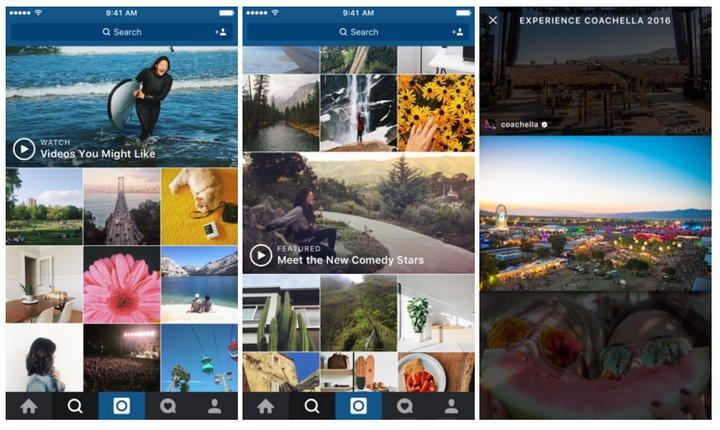 Instagram introduce Canales de Vídeo en la sección Explorar