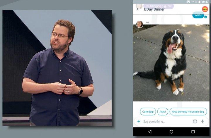 google-allo-cute-dog
