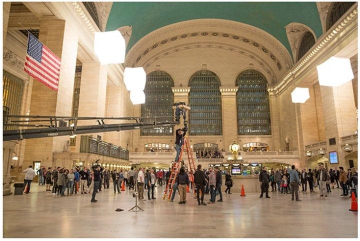 Aquí tienen el primer film de 360º creado por Facebook en la Grand Central Station de Nueva York