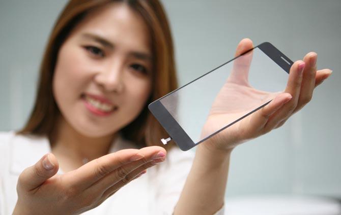 LG presenta un nuevo lector de huellas dactilares que se coloca debajo de la pantalla