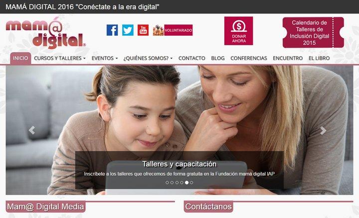 Mamá Digital promueve la educación y el uso de tecnología entre las madres mexicanas