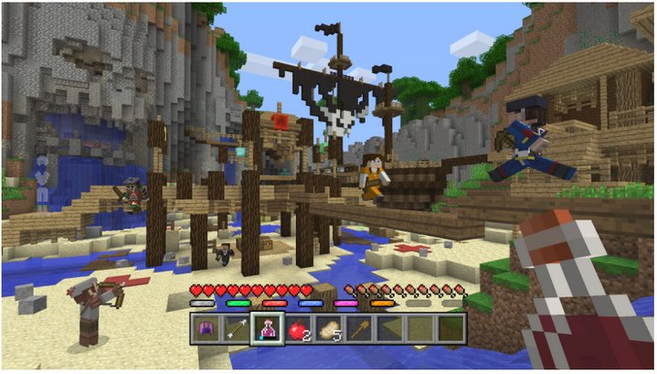 minecraft-battle-mini-game-consolas-de-entretenimiento