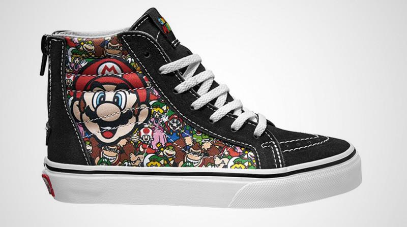 Vans y Nintendo se unen para lanzar una colección alucinante de zapatillas