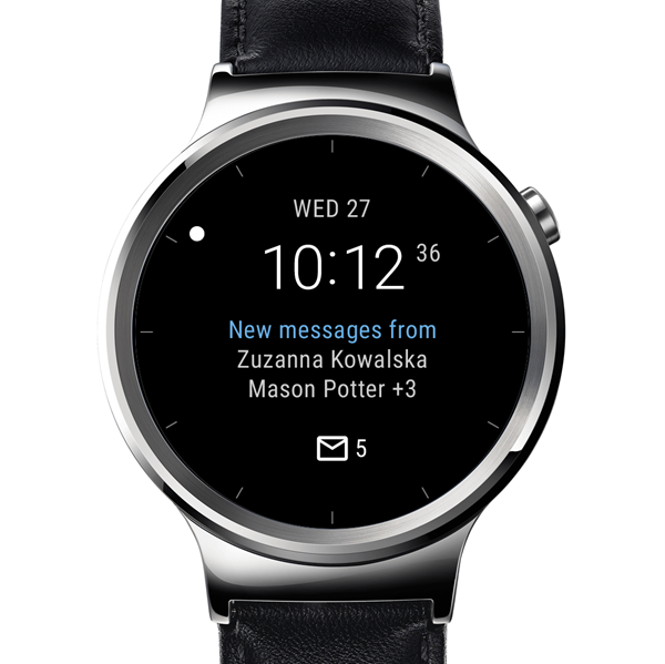Microsoft introduce Outlook watch face para smartwatches Android Wear