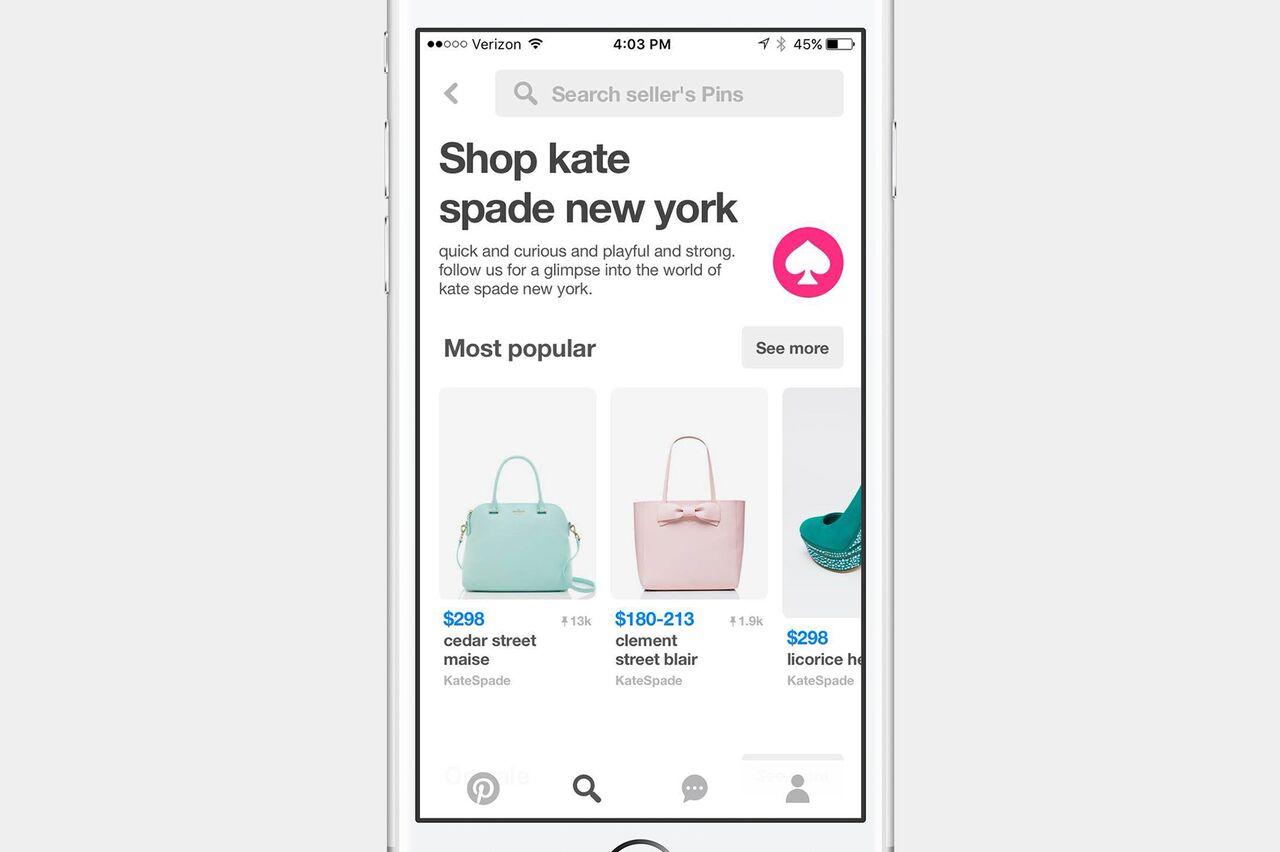 Merchant Profile Pinterest