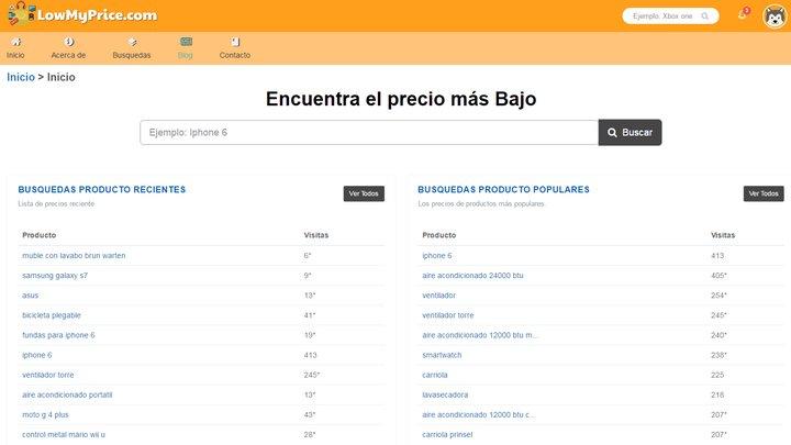 Si se encuentran en México este nuevo buscador/comparador los ayudará a encontrar el precio más bajo