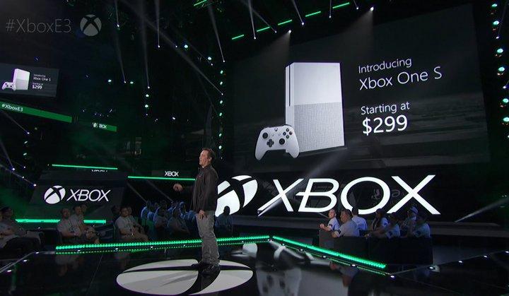 Microsoft anuncia su nueva consola Xbox One S a 299.99 dólares – Imágenes y Vídeo