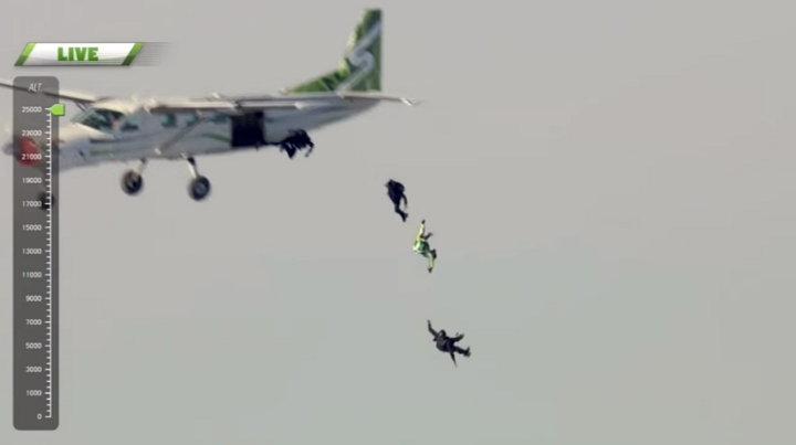 Luke Aikins - Salto sin Paracaídas