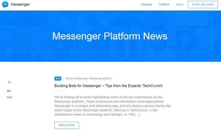 messenger-plataform-news