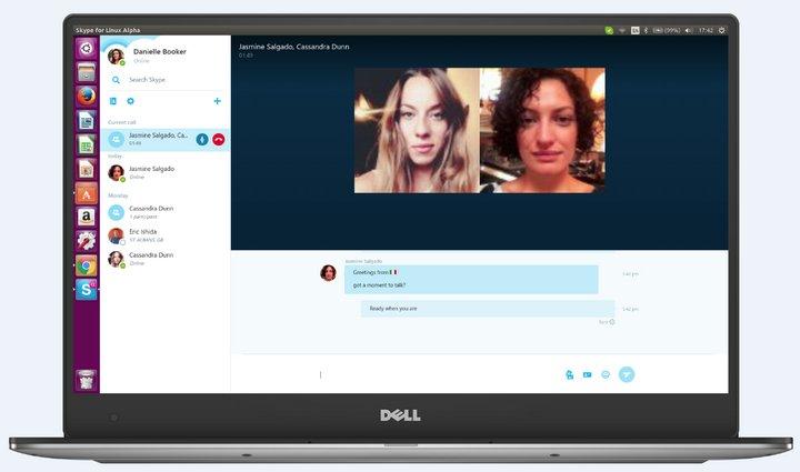 Skype para Linux Alpha