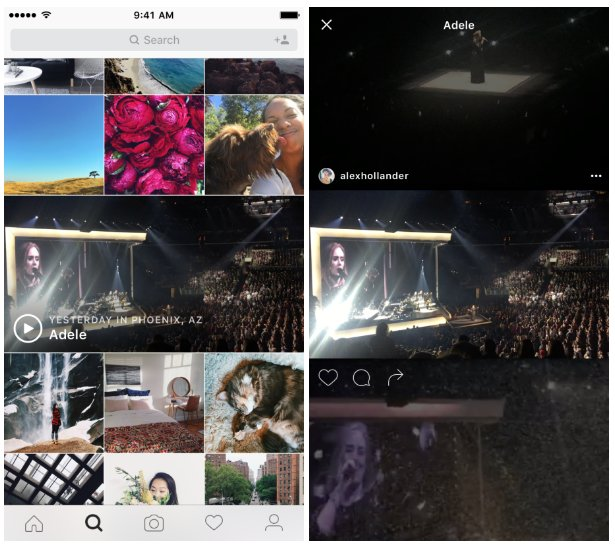 Eventos - Instagram