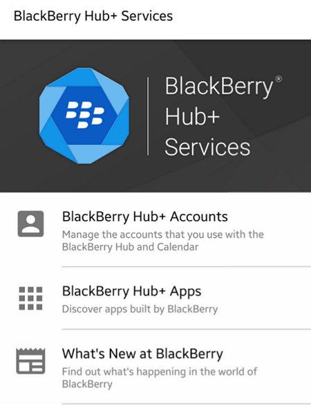 Bblackberry Hub