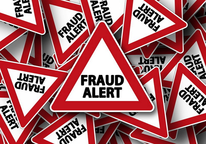 Fraud Alert Clickbait