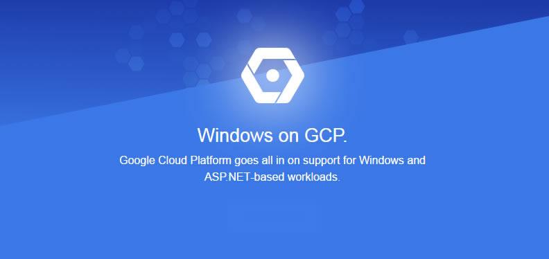 Google Cloud soporta ASP.NET