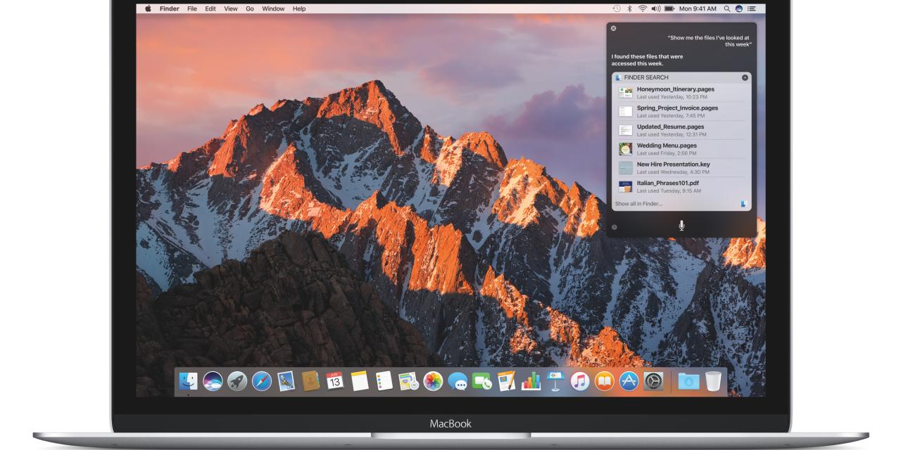 macOS Sierra ya esta disponible para la descarga