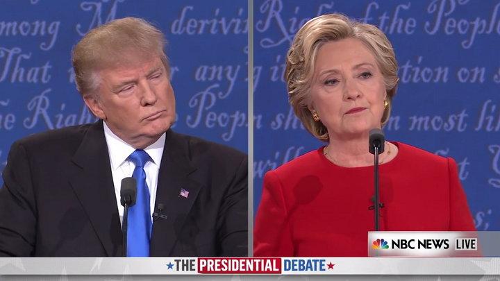 Debate Presidencial - Hillary Clinton - Donald Trump