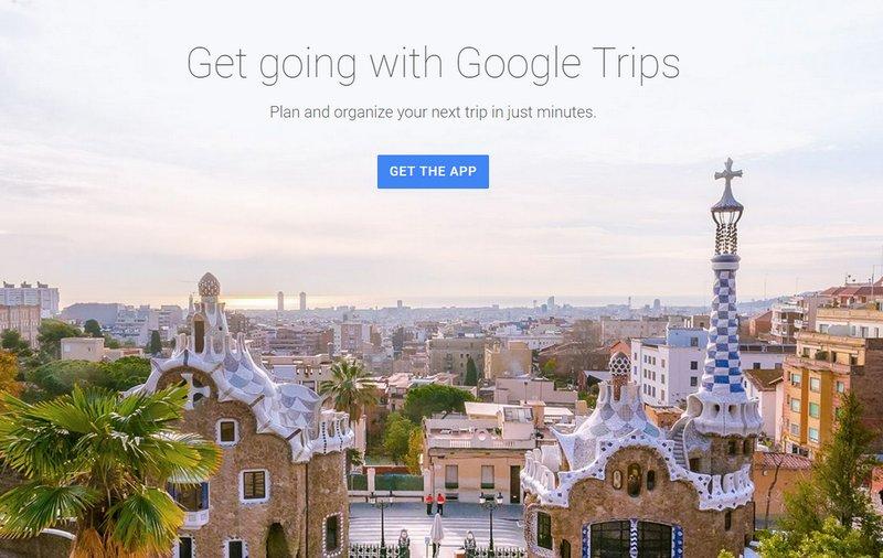 Google Trips una nueva aplicación de viajes muy completa