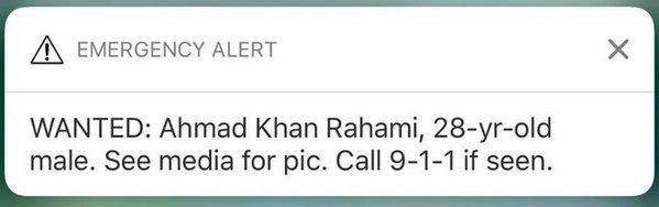 Alerta Emergencia Nueva York
