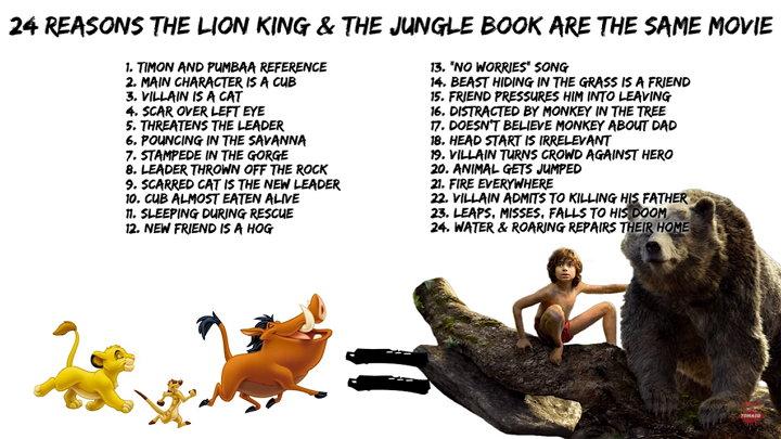Películas - The Lion King - The Jungle Book
