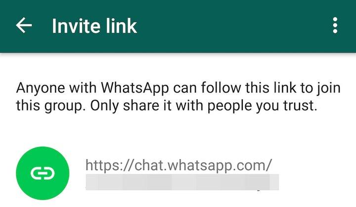 Chat de Grupo WhatsApp