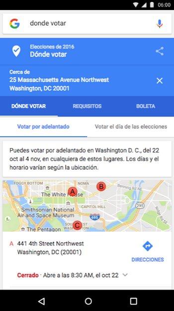 Google Votar