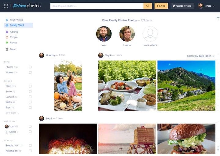 Amazon Prime - Family Vault