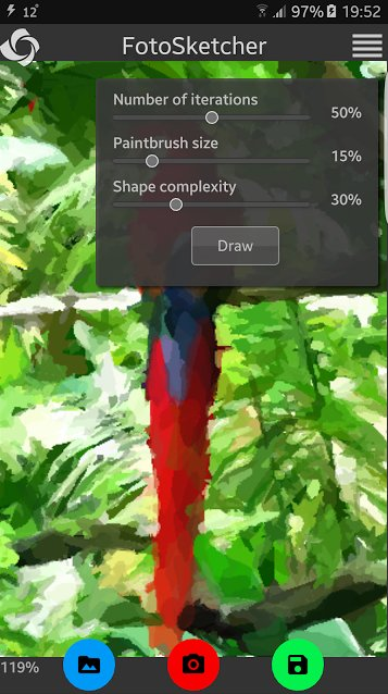 FotoSketcher Android Alpha