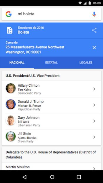 Google Votar Mi Boleta