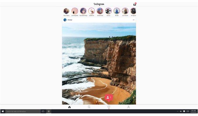 Instagram para Tabletas con Windows 10