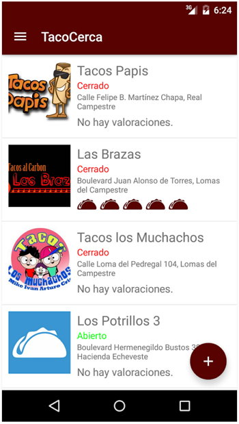 TacoCerca Android