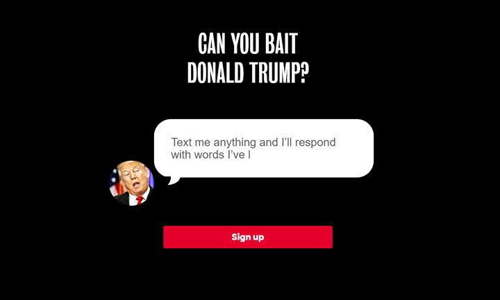 Text Trump Bot