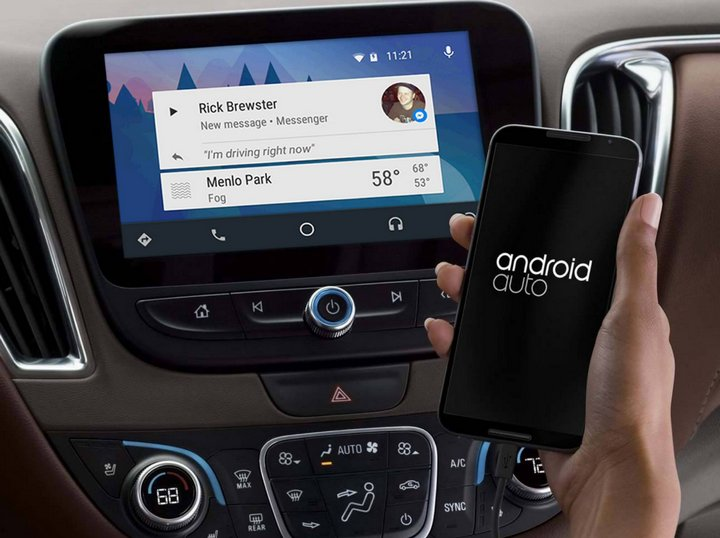 Android Auto - Facebook Messenger