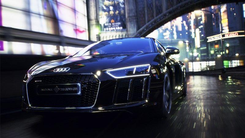 Audi R8 Star of Lucis - Final Fantasy XV