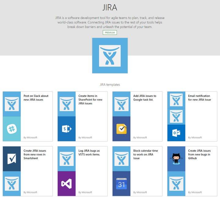 Microsoft Flow - Jira