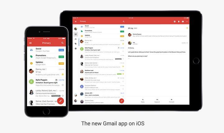 Google Gmail iOS