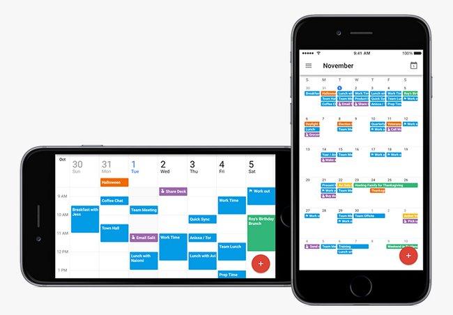 Google Calendario iOS