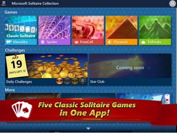 Colección Solitario de Microsoft