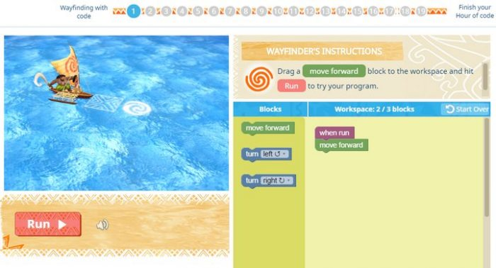 Moana: Wayfinding with Code