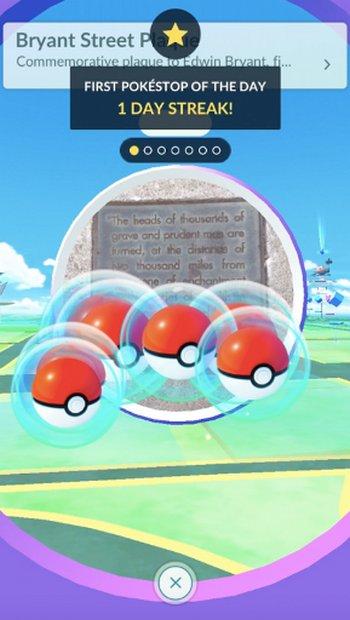 Pokémon Go Bonos diarios