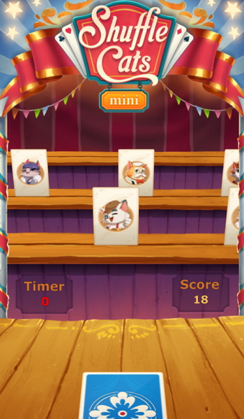 Instant Games - Shuffle Cats Mini