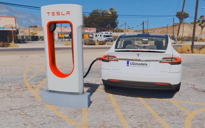 GTA 5 - Tesla Modelo X