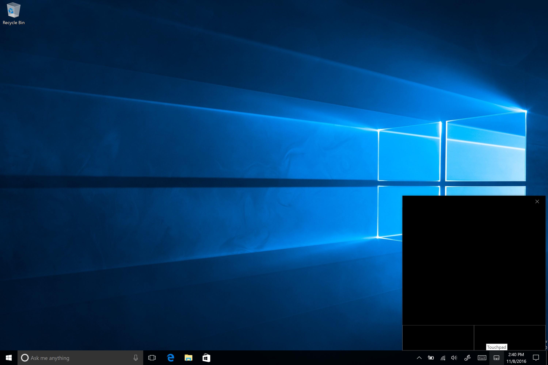 Windows 10 Virtual Touchpad