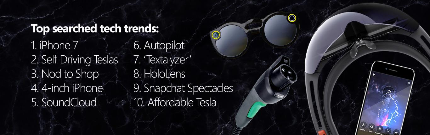 Bing 2016 Tendencias en Tecnología