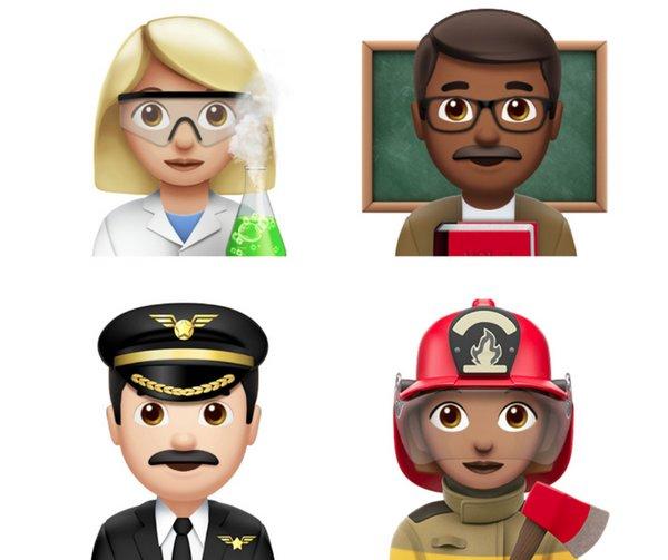 Apple iOS 10.2 - Emoji