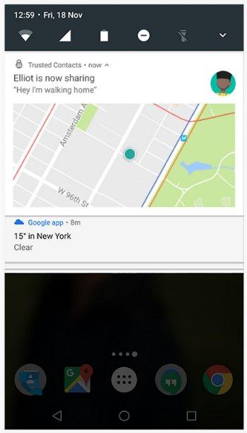 Google Contactos de Confianza