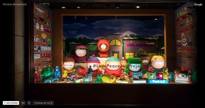 Google Window Wonderland