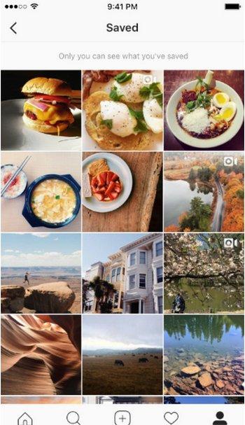 Instagram Marcadores