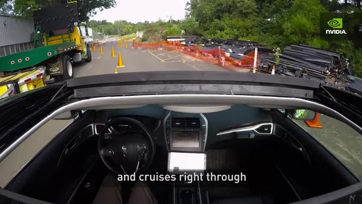 NVIDIA - Vehículo Autónomo BB8