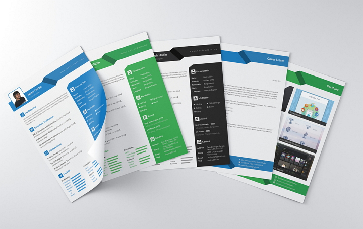 Multipage Resume por Unique Graph