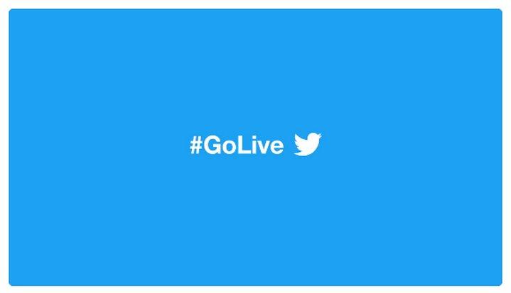 Twitter #GoLive: apps para iOS y Android integran tecnología de Periscope para transmitir vídeo en vivo